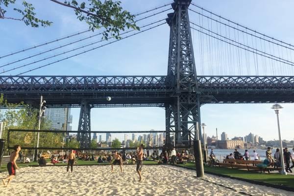 Domino Park, el nuevo parque de Brooklyn