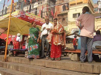 En Varanasi conocí el Ganges, un lugar especial.