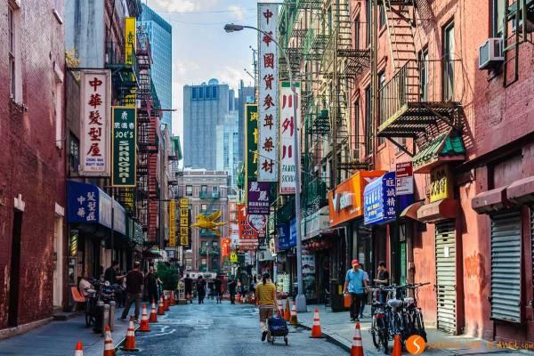 Barrios de Nueva York - Chinatown y Little Italy