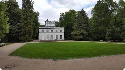 El Parque Real Lazienki en Varsovia, Polonia
