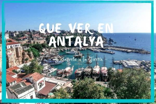 Antalya, la Perla del Mediterráneo